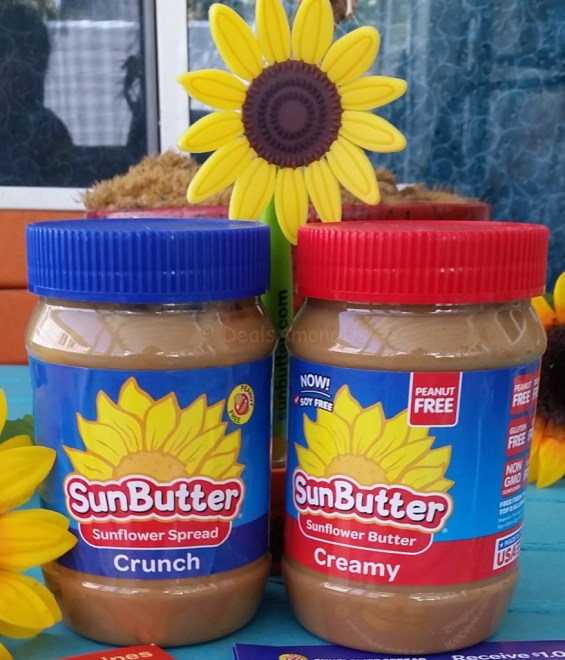 Sun Butter Crunchy and Smooth
