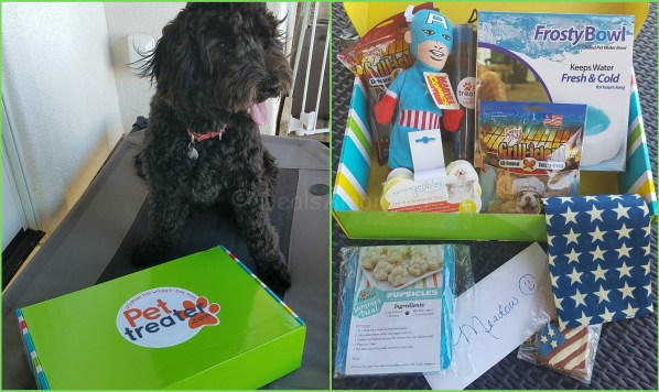 July 2016 Pet Treater - Dog Days of Summer