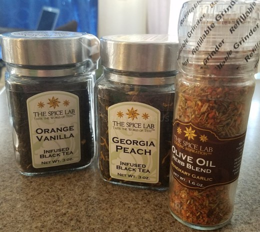 Spice Lab Tea and Oil Blend
