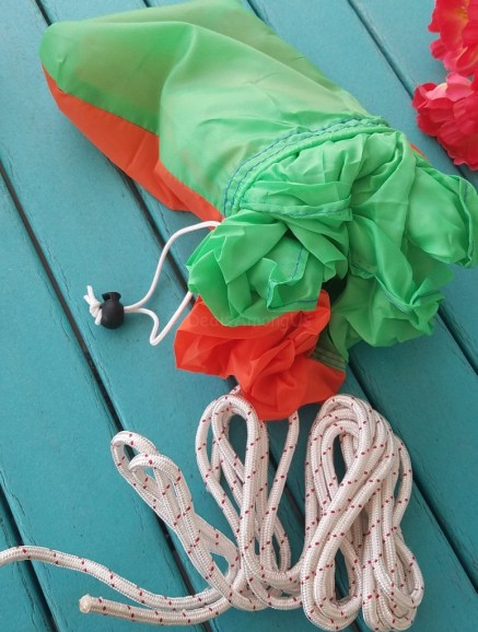 Ultra LIght Parachute Hammock with Travel Bag