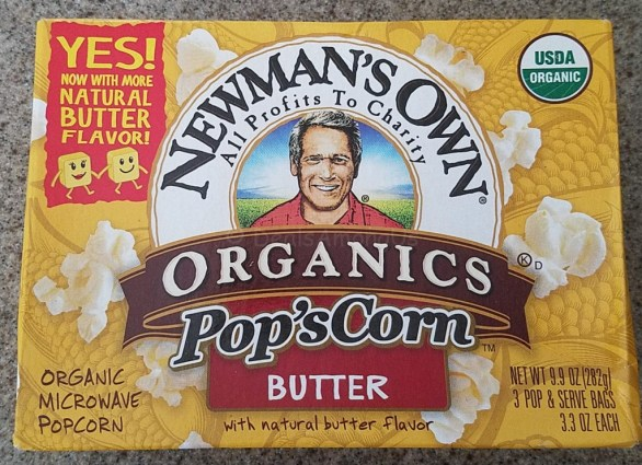 Newmans Own Butter Popcorn