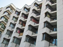 Apartment complex and multifamily construction