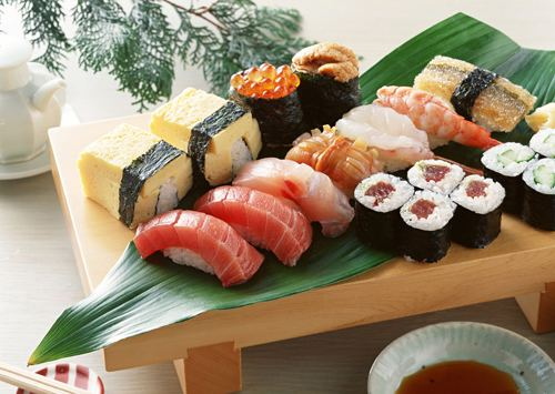 Sushi-a world common language for favorite food Menu