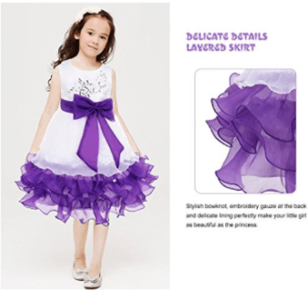 Deals finders princess flower tulle lace sleeveless embroidered princess dress flower girl dress tulle lace dress sleeveless mightylinksfo