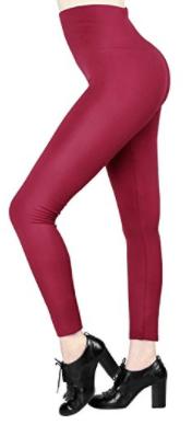 b951695858f54 Women Winter High Waist Spanx Fleece Lined Leggings Ladies Seamless Ankle 7  Pack 2