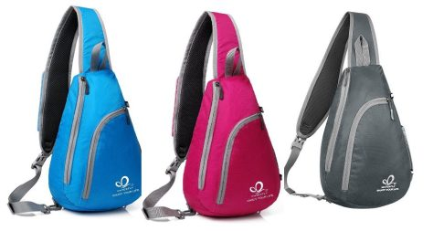 b21c5b98cb Deals Finders | Amazon : Chest Sling Shoulder Backpacks Just $8.99 ...