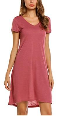 930079d7743f6 Deals Finders | Amazon : Women's Summer Short Sleeve Casual Loose ...