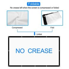 120 Inch Projection Screen 2