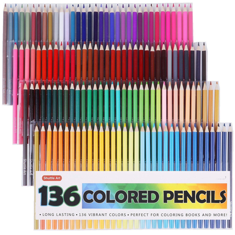 136 Colored Pencils