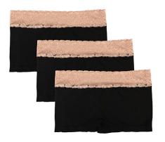 2018-06-14 16_13_11-Sassalilly Women's 3-Pack Boyshort Panties Nylon Spandex Stretch Boxer Briefs Un