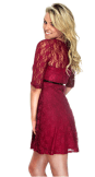 2018-06-15 00_07_51-Women's Cute Sheer Lace Three-Fourth Sleeve Dress with Belt Decor at Amazon Wome