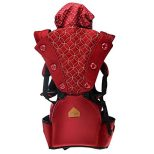 360 Ergonomic Baby Carrier with Sling Soft Hip Seat 1