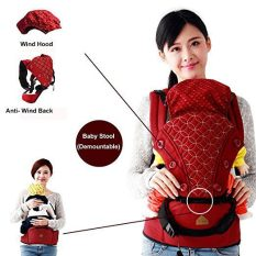 360 Ergonomic Baby Carrier with Sling Soft Hip Seat 3
