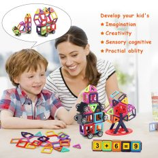 95 Pieces Magnetic Stacking Blocks 5