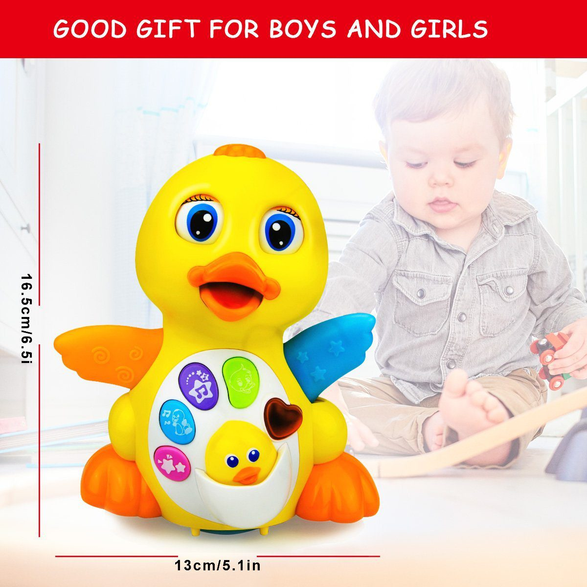 Baby Toys Musical Dancing and Singing Duck Toy 4