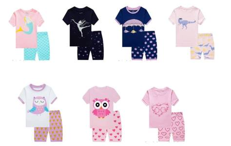 Boys 2 Piece Short Pajamas