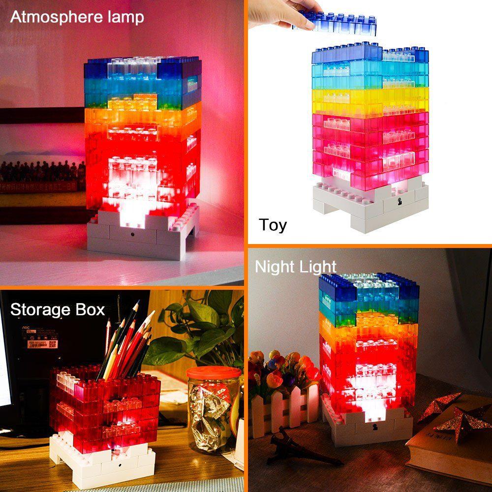 Building Block Desk Lamp 3