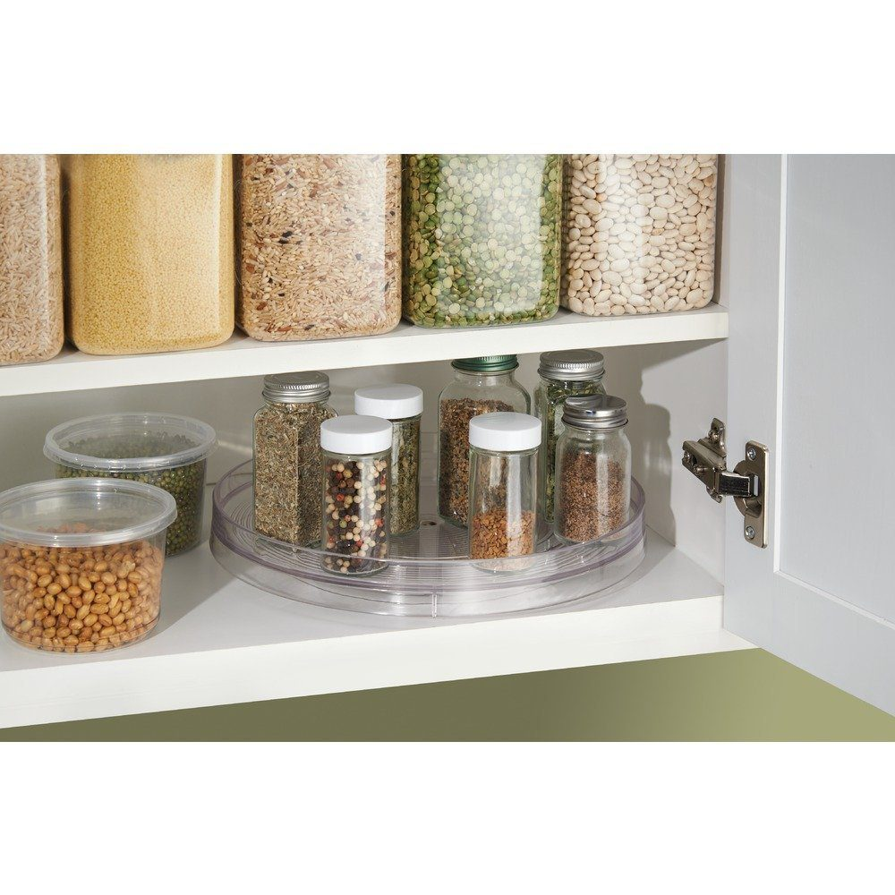 Cabinet Turntable - Organizer Tray for Kitchen Pantry or Countertops 1