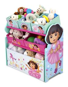 Delta Children Multi-Bin Toy Organizer, Nick Jr. Dora The Explorer 1
