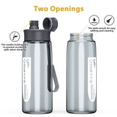 Water Bottle 28oz with Handle, BPA Free and Leak-Proof 4
