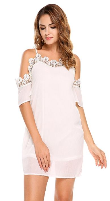 women-spaghetti-strap-short-sleeve-cold-shoulder-lace-floral-patchwork-sexy-midi-dress