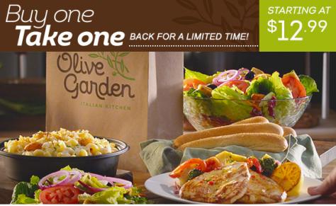 olive garden bogo entreepng - Olive Garden Lunch Time