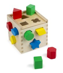 Wooden Toy With 12 Shapes
