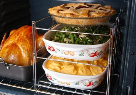 Deals Finders Amazon 3 Tier Oven Rack Only 11 36 On Amazon