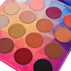 16 Colors Eye shadow Highly Pigmented Cream Makeup Palette with Mirror 4