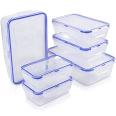 6Set Airtight Leak Proof Meal Prep Containers