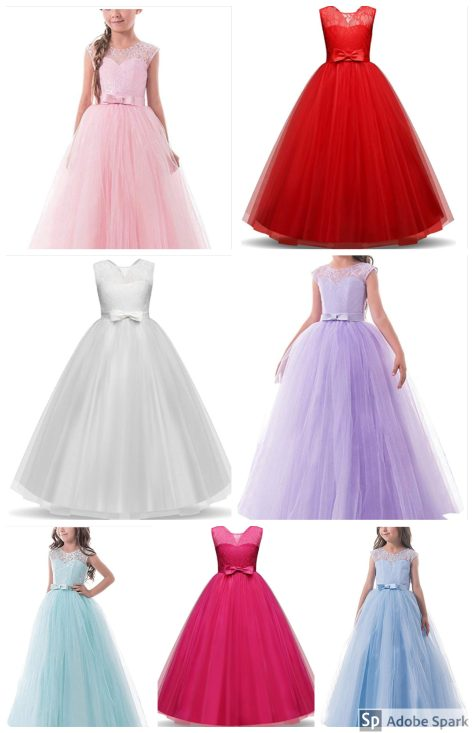 Deals Finders | Amazon : Girls Pageant Ball Gowns Just $16.79 W/Code ...