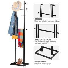 Coat Hanger Hat Rack 3