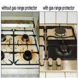 Gas Range Protectors with Multipurpose Lighter - 4 Pack 3