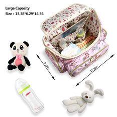 Pink Diaper Bag 4