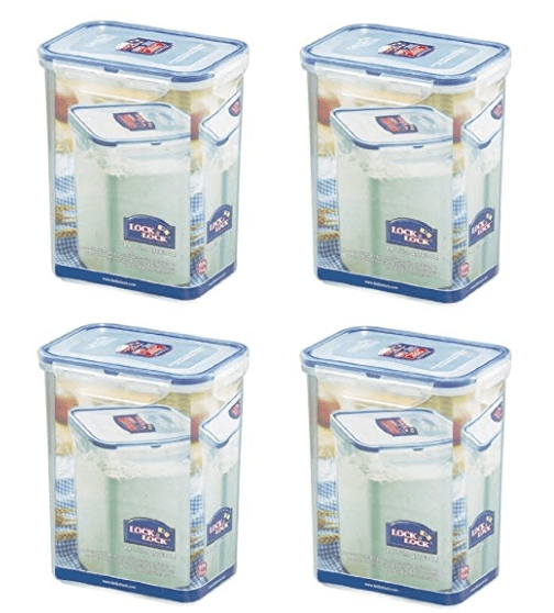 Rectangular Tall Food Storage Container Set