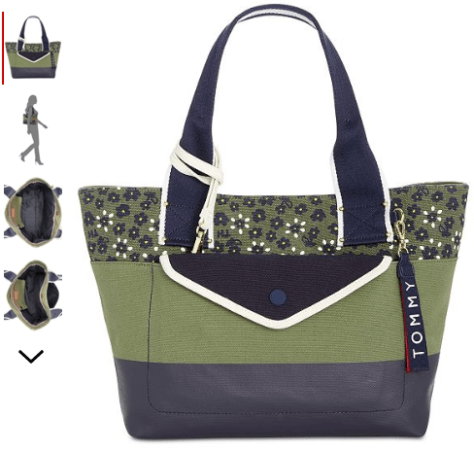 2018-09-19 10_43_07-Tommy Hilfiger Classic Tommy Canvas Floral Tote - Handbags & Accessories - Macy'.png