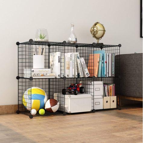24 pcs Metal Wire Storage Cubes Organizer 1