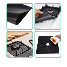 4-Pack Reusable Gas Stove Burner Covers 2