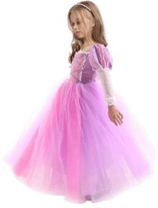 Halloween princess rapunzal dress