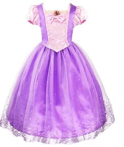 Halloween princess rapunzel dress 1