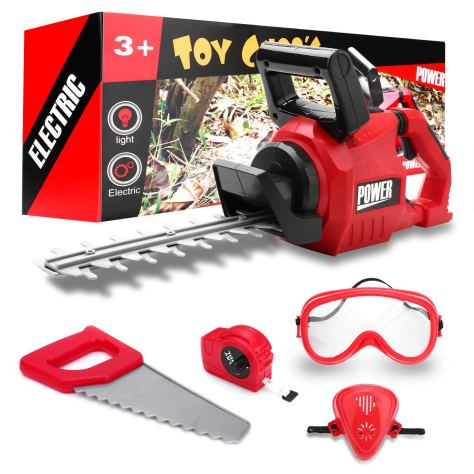 Kids Power Tools Hedge Trimmer Set 1
