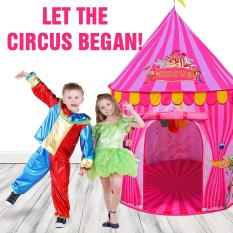 Kids Vibrant Pink Toy Circus Tent 1