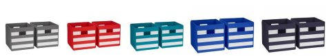 2-pc. Folding Storage Bin Set