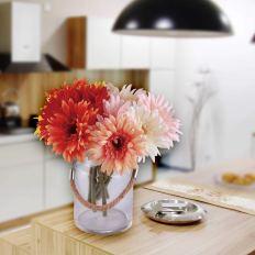 6 pcs Artificial Daisy Bridal Flowers Bouquet 1