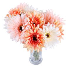 6 pcs Artificial Daisy Bridal Flowers Bouquet