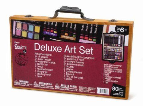 80-Piece Deluxe Art Set 2