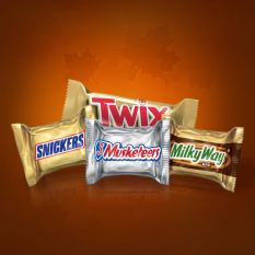 Halloween Candy Minis Size Variety Mix 1