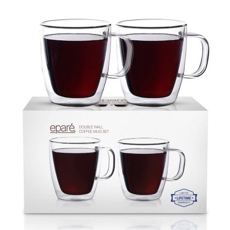 Insulated Coffee Cups Set