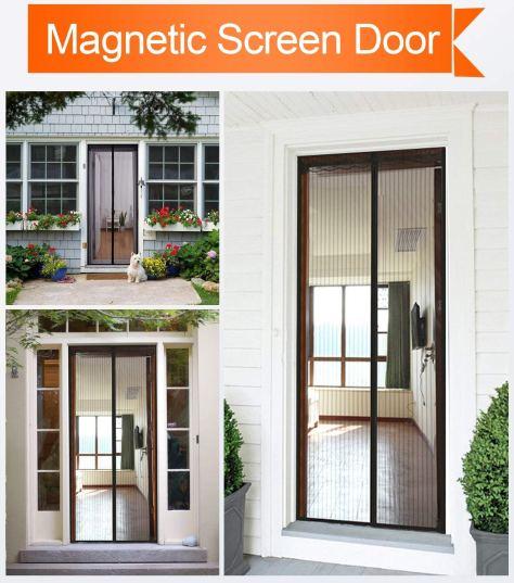 Magnetic Screen Door 1