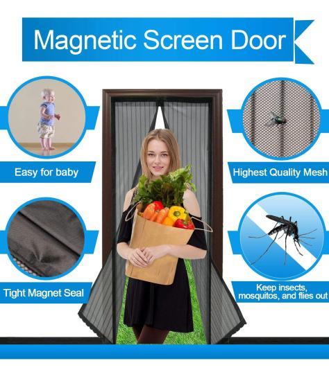 Magnetic Screen Door 2